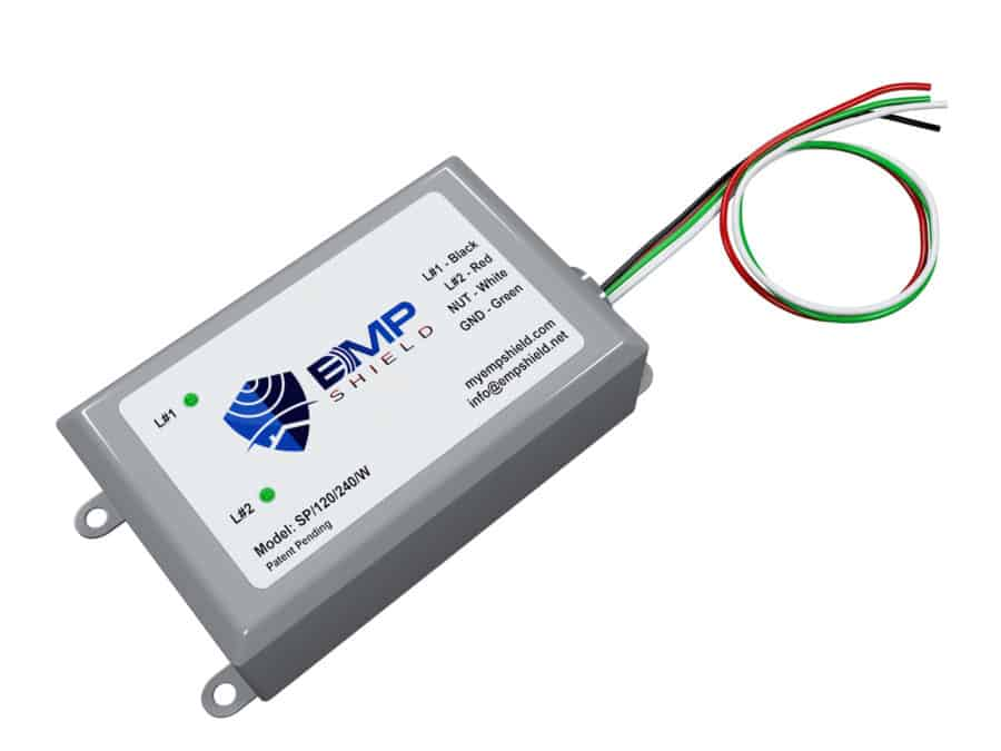 EMP Shield Generator Single Phase 120 - 240 Volts Wired (SP-120-240-WG) electromagnetic pulse shielding protection