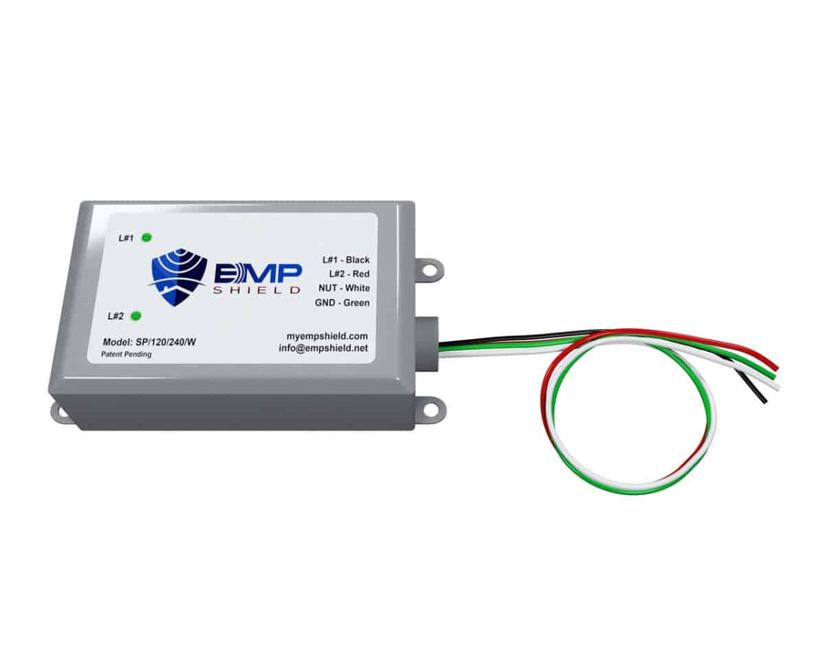 EMP Shield Generator Single Phase 120 - 240 Volts Wired (SP-120-240-WG)