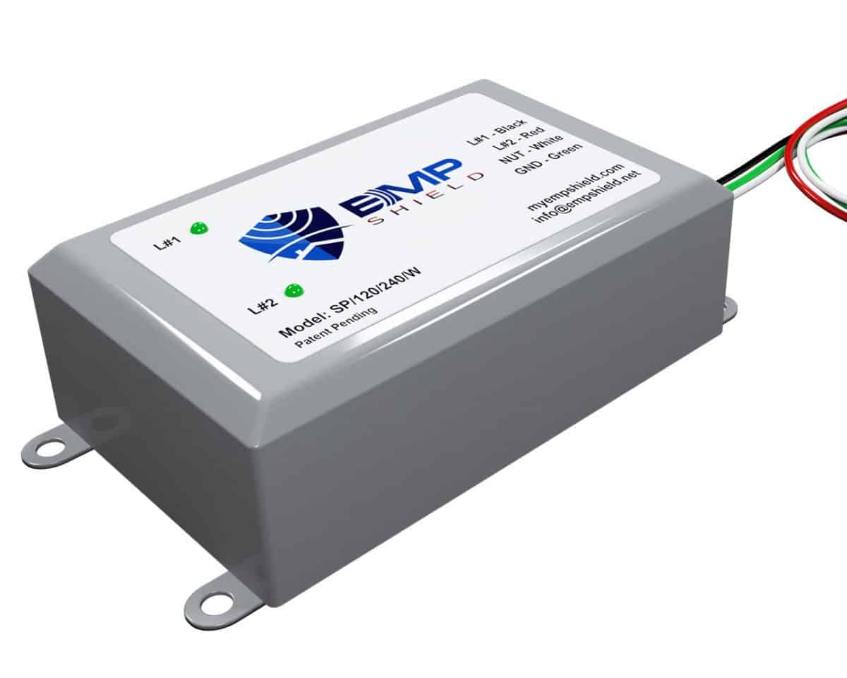 EMP Shield Home Model with Remote LED. For whole home EMP Defense and Protection. DOD Tested and Approved. Worlds First Home EMP Defense Technology for the entire home